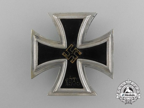 Iron Cross I Class, by Wächtler & Lange (unmarked, non-magnetic) Obverse
