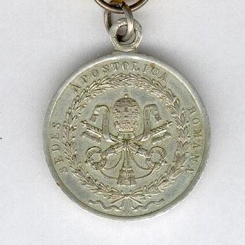 Medal for the Siege of Rome in Silver Obverse