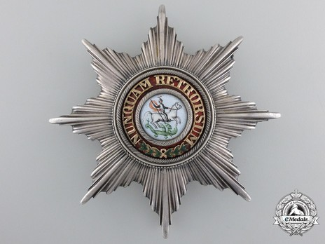 Knight's Cross Breast Star (with smooth rays) Obverse