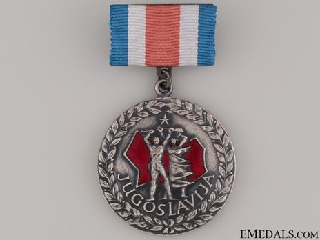 Freedom to People & Death to Fascism 1941-1945 Medal Obverse