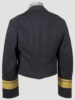 Kriegsmarine Blue Mess Jacket Reverse