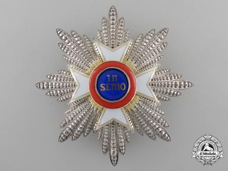 Breast Star (in silver) Obverse
