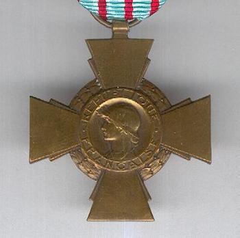 Bronze Cross (by Janvier Berchot) Obverse