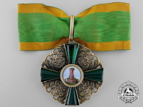 Commander (in gold) Obverse with Ribbon