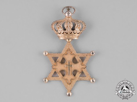 Order of Solomon's Seal, Grand Cross Obverse