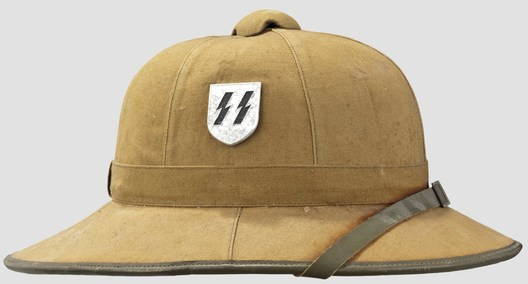 Waffen-SS Tropical Pith Helmet Right