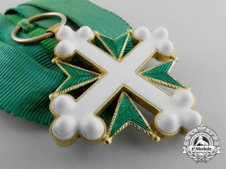 Order of St Maurice and St. Lazarus, Knight's Cross Obverse