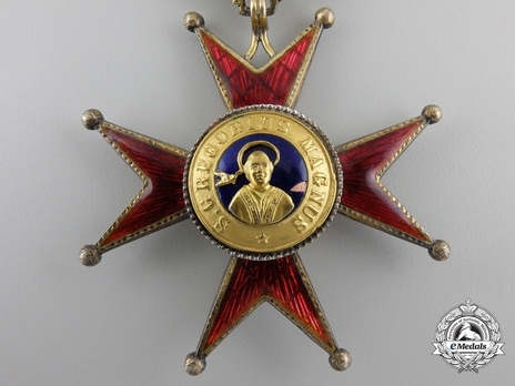 Order of St. George the Great Commander (Civil Division) (with silver-gilt) Obverse Detail