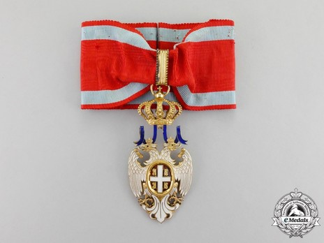 Order of the White Eagle, Type II, Civil Division, III Class Obverse