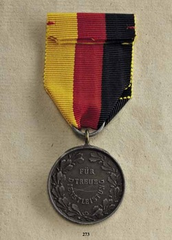 Honour Medal for Private Industry, Labour, and Domestic Service, in Bronze