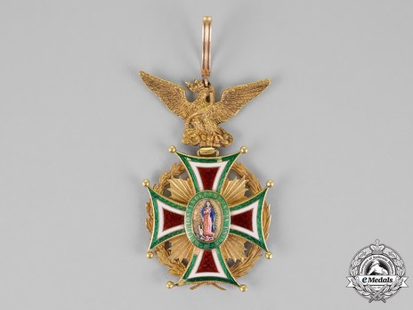Order of Guadalupe, Type III, Grand Cross Obverse