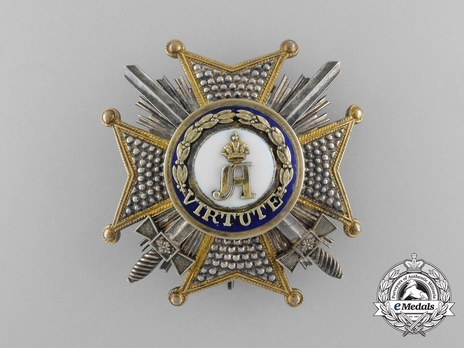 Order of Civil and Military Merit of Adolph of Nassau, Grand Officer Breast Star