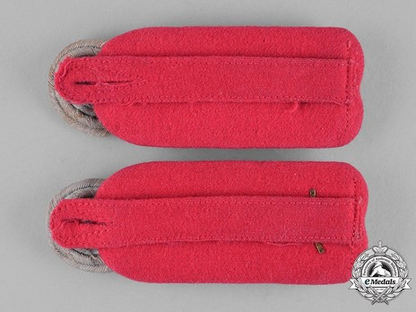 German Army Armoured Oberst Shoulder Boards Reverse