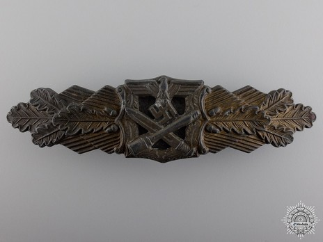 Close Combat Clasp, in Bronze, by R. Souval Obverse