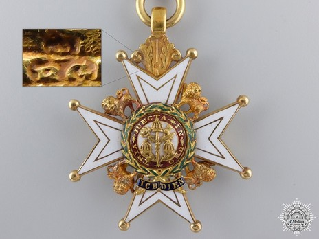 Companion (Military Division) (with gold by Garrard) Obverse and Detail