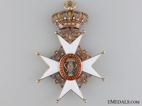 Commander Grand Cross (Gold) Reverse