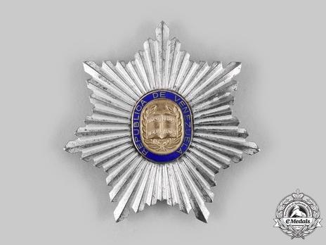Order of Andres Bello, Grand Cross Breast Star