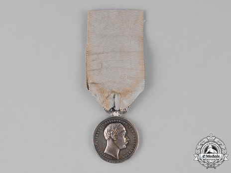 "Silver Medal (for civilians, ""W.KULLRICH F."") Obverse"