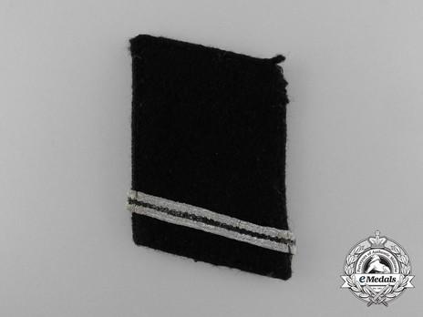 Waffen-SS Sturmmann Collar Tabs Obverse