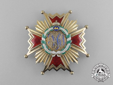 Commander by Number Breast Star (1875-1931) Obverse