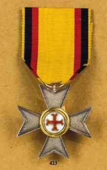 Order of Merit, Civil Division, Silver Honour Cross (1899-1918)