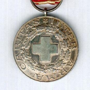 Cross of Merit of the Finnish Red Cross, Silver Medal Obverse