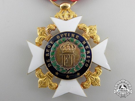 Royal Order of Francis I,  II Class Knight's Cross Obverse