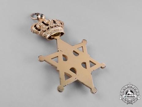 Order of Solomon's Seal, Grand Cross Reverse