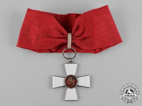 Order of the Lion of Finland, Civil Division, Commander Obverse