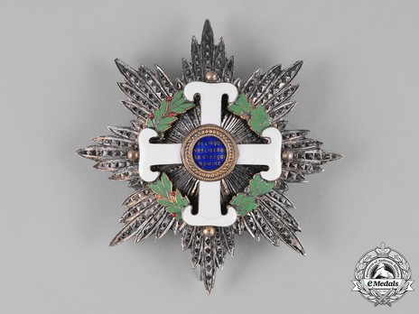Order of San Marino, Type I, Military Division, Grand Officer Breast Star