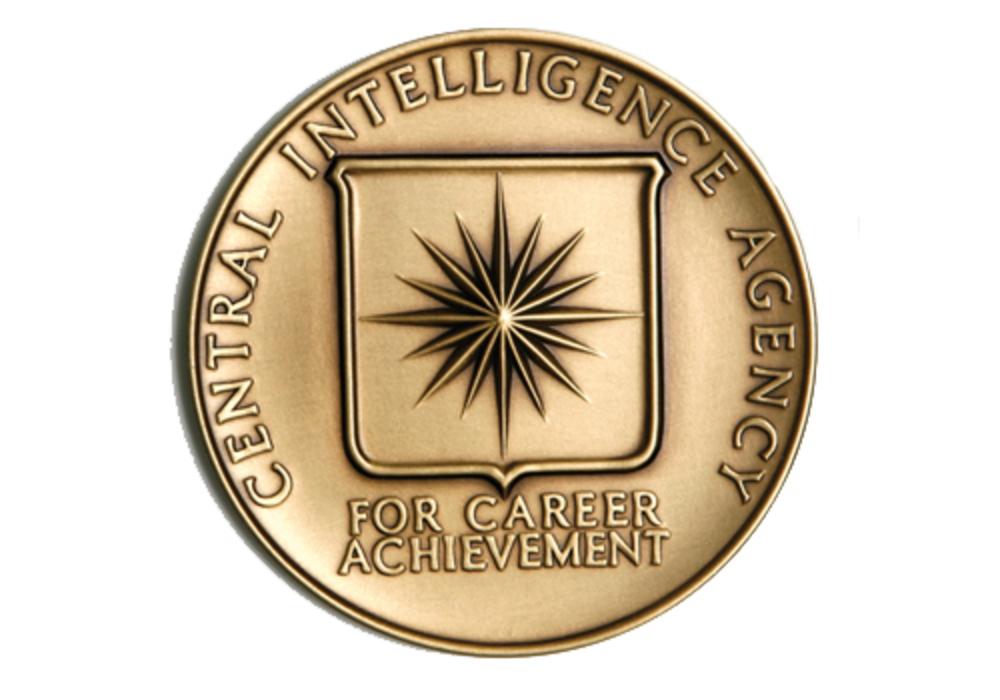 Career intelligence medal of the cia