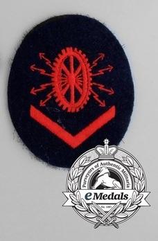 Kriegsmarine Electric Technics Course Grade III Insignia Type II Obverse