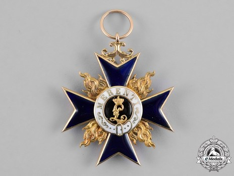 Order of Military Merit, Civil Division, I Class Knight's Cross Obverse