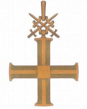 Order of the Cross of Independence, I Class Reverse