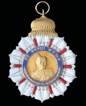 Order of the Star of Honour, I Class Grand Commander Sash Badge