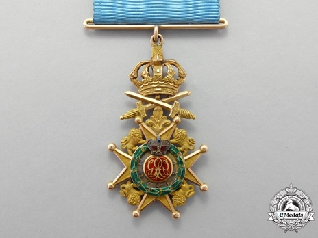 Knight (Military Division) (British Manufacture) Reverse