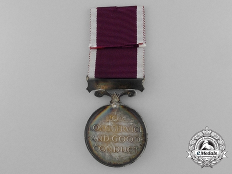 Silver Medal (for Regular Army, 1930-1936) Reverse
