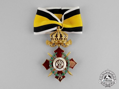 Order of Military Merit, IV Class (with war decoration) Obverse