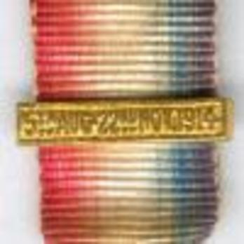 """Miniature Bronze Medal (with """"5TH AUG. 22ND NOV. 1914"""" clasp) Clasp"""