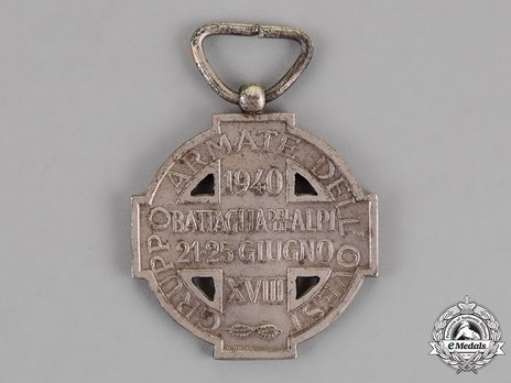 Commemorative Cross of the Western Army Reverse