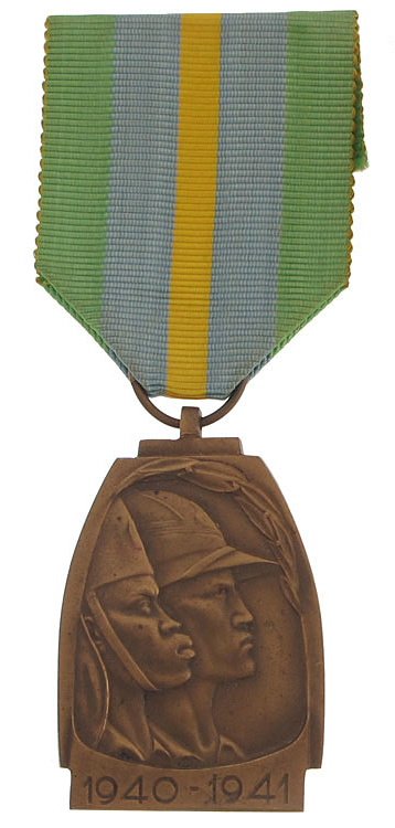 Medal of the abyssinian campaign o2