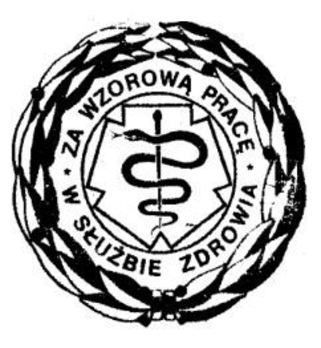 Decoration for Exemplary Service in Healthcare (1986-1989) Obverse