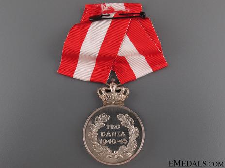 "Silver Medal (stamped ""H. SALOMAN"") Reverse"
