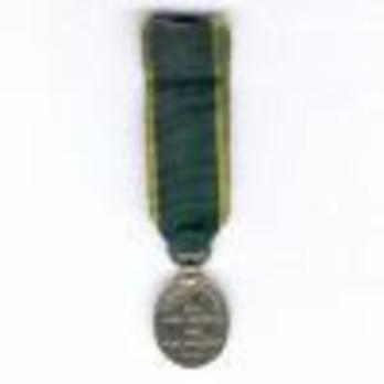 Miniature Silver Medal (with King George V effigy) Reverse