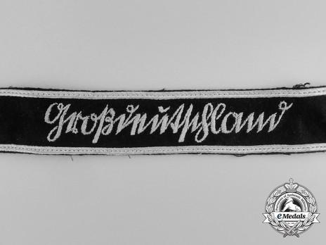 German Army Großdeutschland Cuff Title (Sütterlin version) Obverse