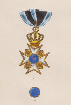 Obverse, with Reverse Center Medallion