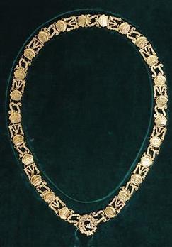Order of St. Stephen, Type II, Collar
