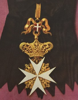 Order of the Knights of Malta, Lady's Grand Cross of Honour (in gold)
