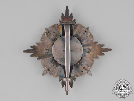 Order of the Zähringer Lion, Commander Breast Star with Swords