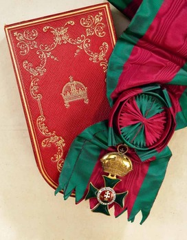 Order of St. Stephen, Type II, Grand Cross